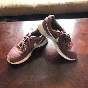 Mauve Pink Nike Shoes